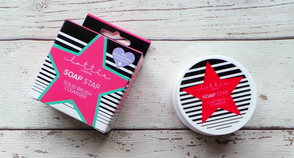 Lottie soap star solid brush cleanser