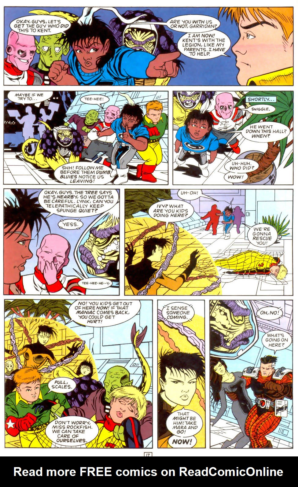 Legion of Super-Heroes (1989) 51 Page 17