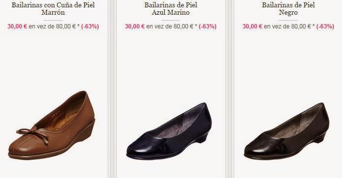 Tres modelos de bailarinas de piel que puedes comprar muy baratas