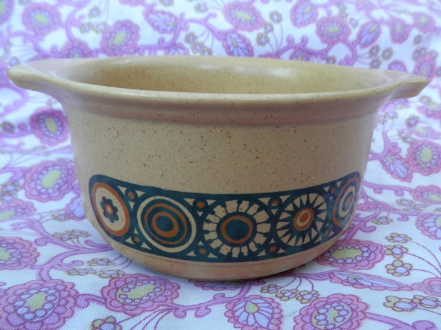 Charity shopping, the one with the weird but cute owl.  And the kiln craft bacchus bowl and the papier mache box.  secondhandsusie.blogspot.com #charityshopping #charityshopblog