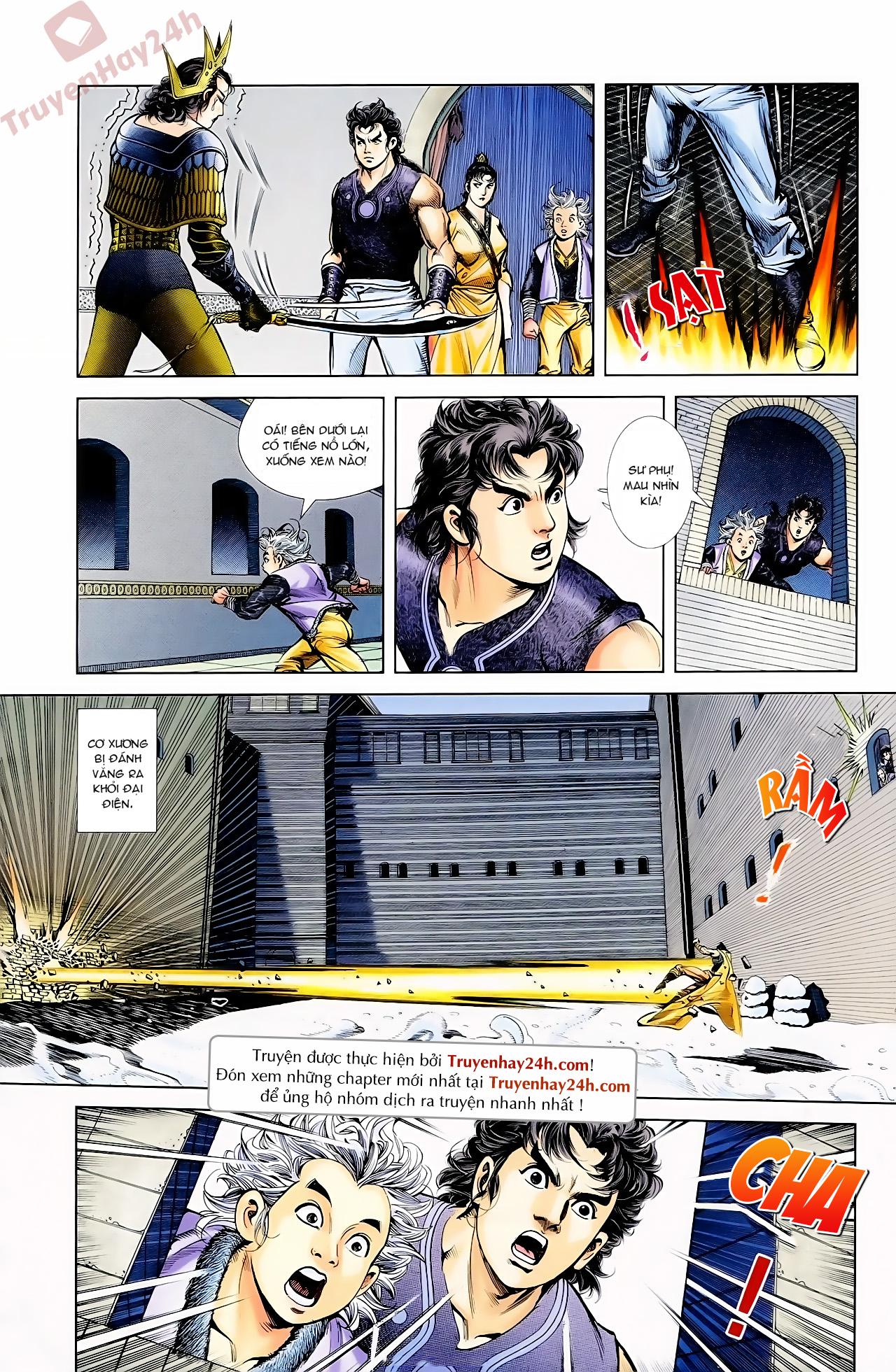 Cơ Phát Khai Chu Bản chapter 62 trang 14