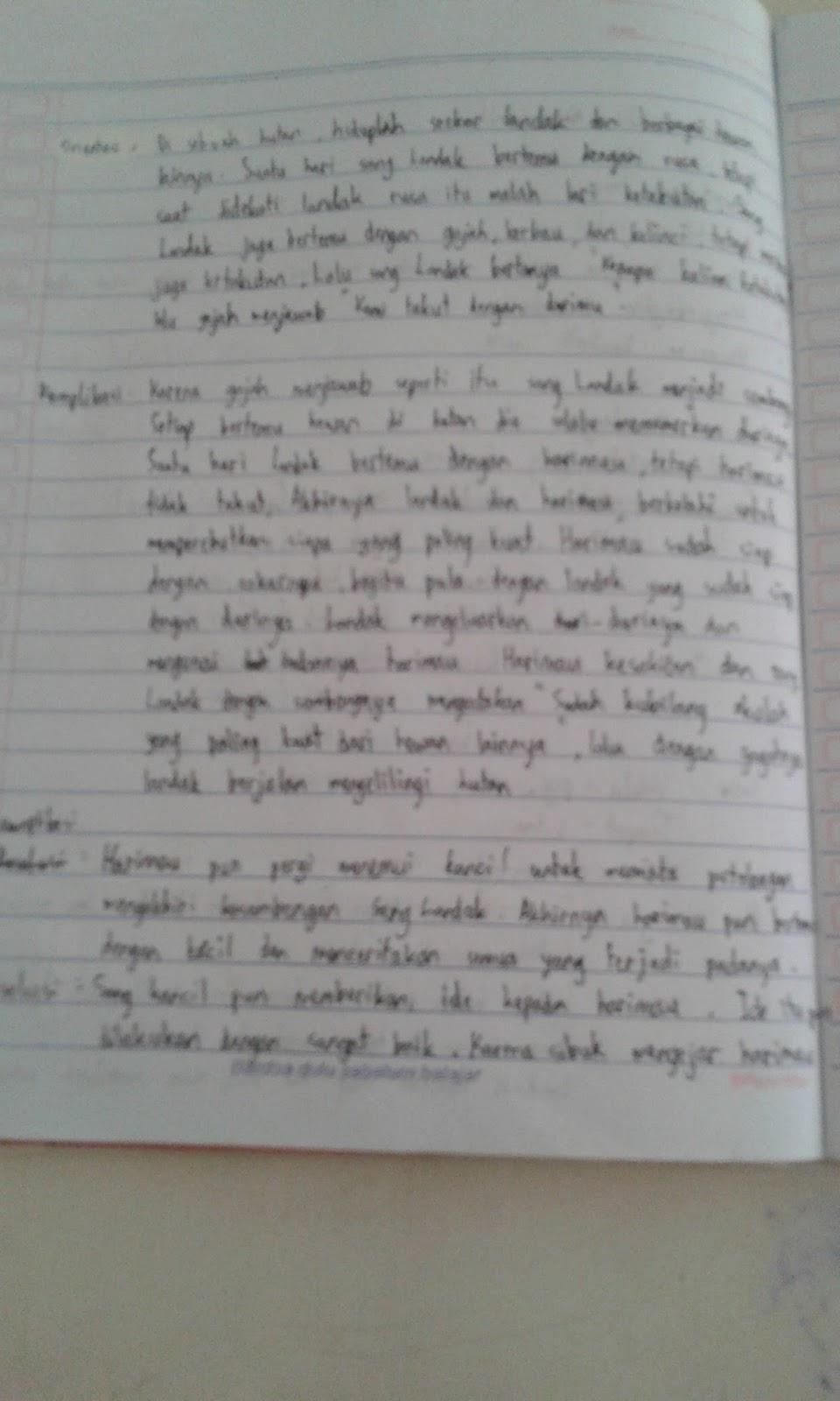 01 Achmad Fadhillah Kelas 8 4 Landak Yang Sombong Materi Dasar