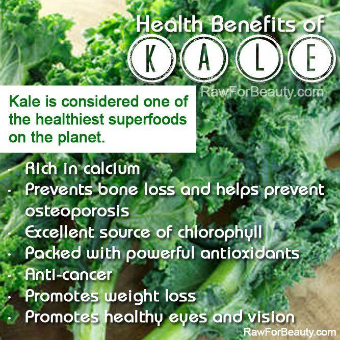 Natural Cures Not Medicine: Health benefits of kale