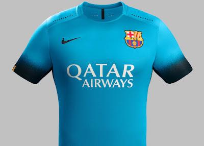 Kostum Ketiga Barcelona