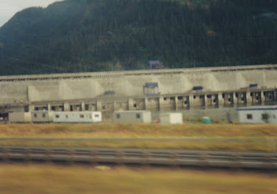Bonneville Dam Second Powerhouse on July 23, 1999