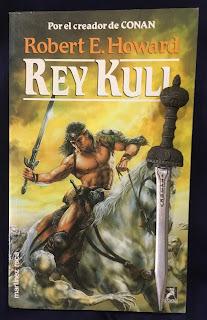 Portada del libro Rey Kull, de Robert E. Howard