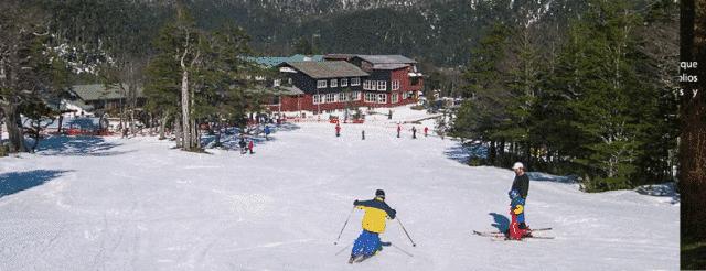 Antillanca Ski and Mountain Center, South of Chile.