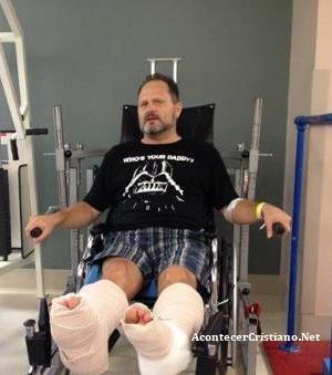 Marcos Witt en rehabilitación después de operación quirúrgica