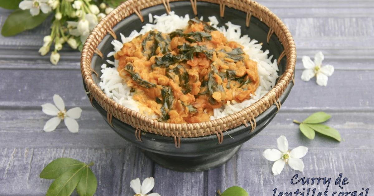 Curry De Lentilles Corail Aux Pinards