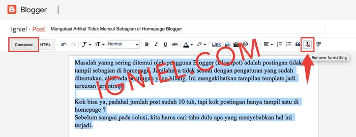Agar Teks Dari Ms.Word Valid HTML5
