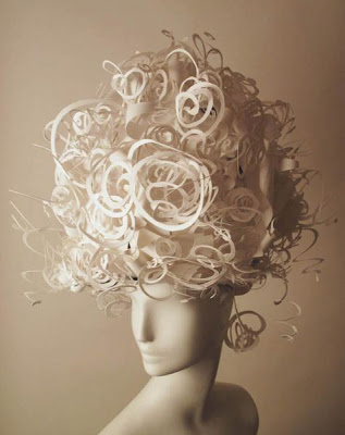 Creative Paper Eyelashes and Cool Paper Wigs (10) 6