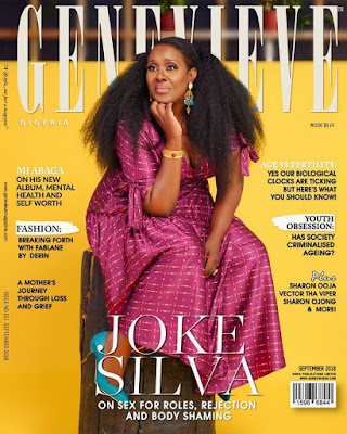 Veteran Actress Joke Silva is coverstar for Genevieve Magazine