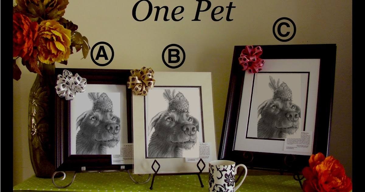 C M Maniet S Pencil Smudge Pet Portraits Prices