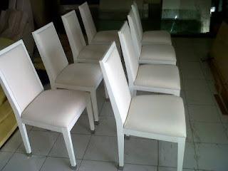 service kursi makan jati sampurna