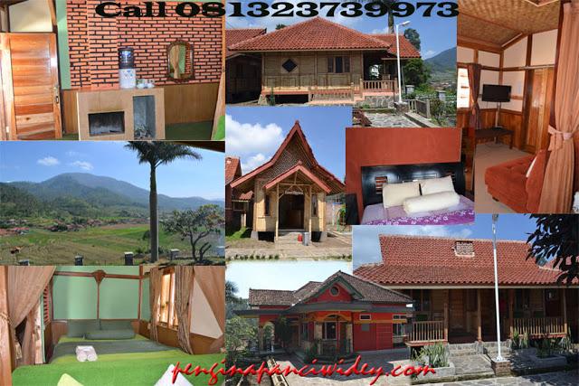 Booking villa di area wisata kawah putih dari purworejo