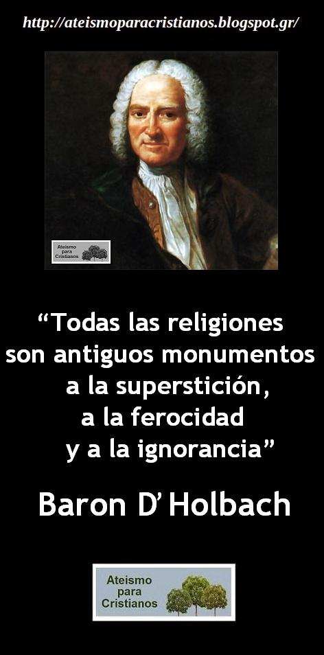 Ateismo Para Cristianos Frases Célebres Ateas El Barón D