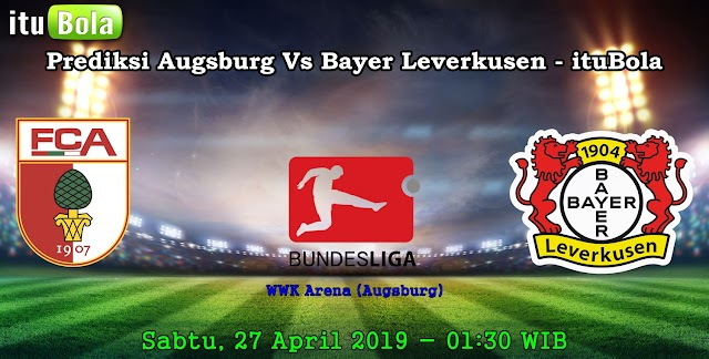 Prediksi Augsburg Vs Bayer Leverkusen - ituBola
