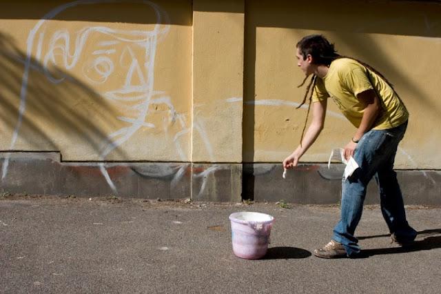 Уличный художник из Италии. Агостино Якурчи (Agostino Iacurci) 19