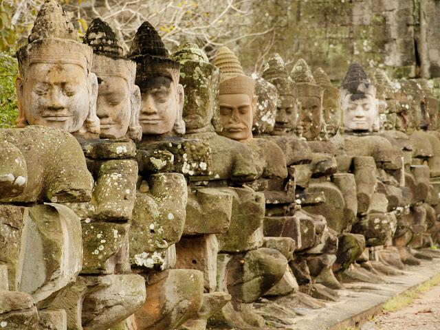Victory Gate en Angkor