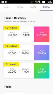 Cara mudah dan cepat mendapatkan pulsa gratis di android dengan cashtree