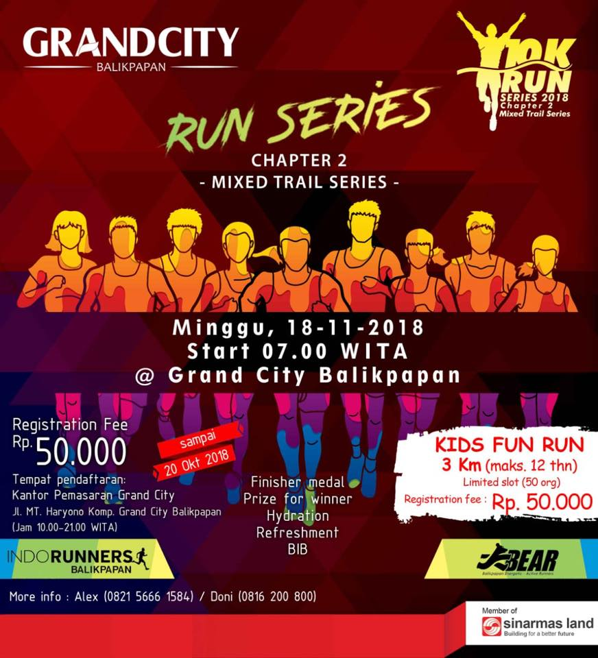 Grand City Run Series - Chapter 2 • 2018