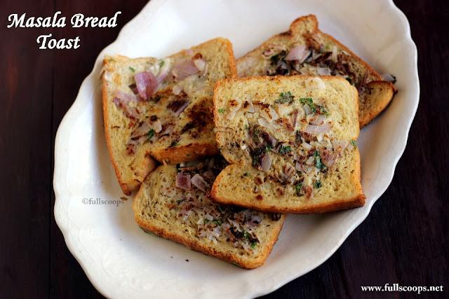 Masala Bread Toast