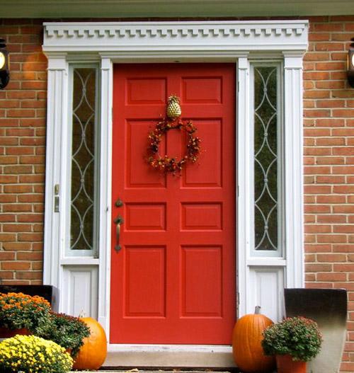 Chọn màu sơn cho cửa nhà
