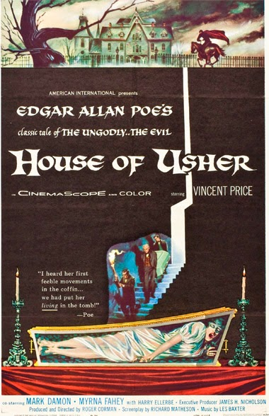 Poster - House of Usher (1960)