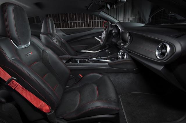 Éste es el nuevo Camaro ZL1 2017 el deportivo más potente de Chevrolet