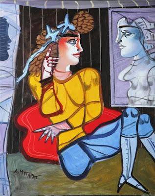 femeie-la-oglinda-de-dimitris-mytaras