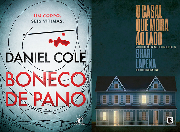 Livros: lançamentos literários de maio - suspense, mistério e horror