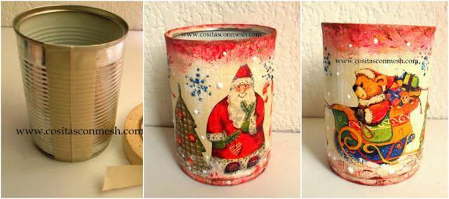 Latas-navideñas-reciclaje