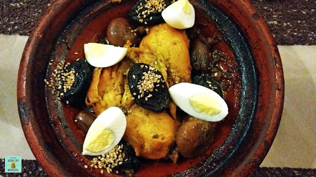 Tajín de pollo, Marruecos