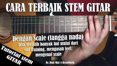Belajar Stem Gitar Untuk Pemula
