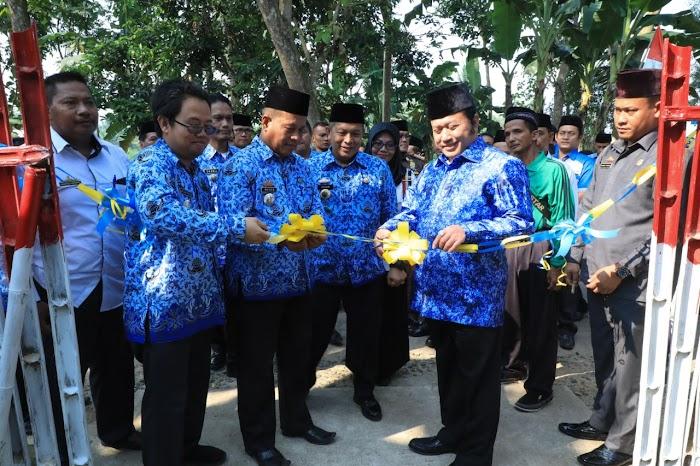 Bupati Launching Program PAMSIMAS Kec. Way Sulan Lamsel