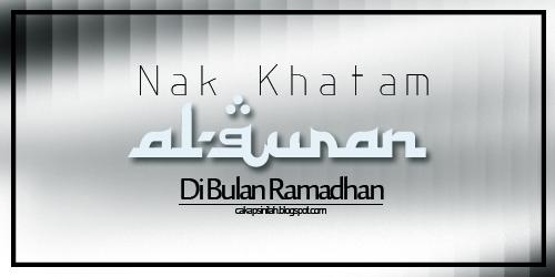 cara khatam al-quran
