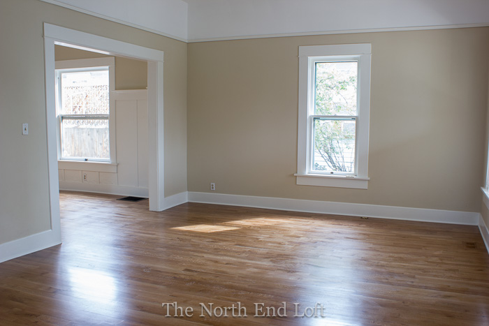 Finest The North End Loft: New Hardwood Floors - Reveal WG22