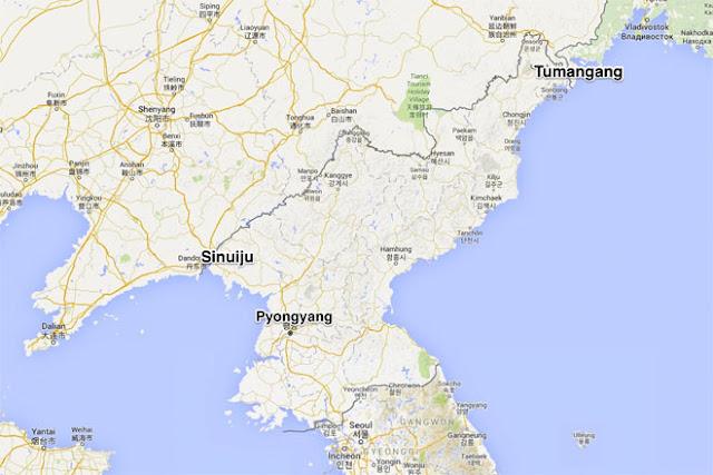Hầu hết du khách Trung Quốc tới Triều Tiên bằng tàu hỏa qua Sinuiju hoặc bằng máy bay đến Bình Nhưỡng.  Nhưng Chu đã sang Nga, để từ đó vào Triều Tiên qua cảng Tumagang.