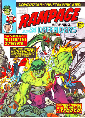 Rampage #21, the Sons of the Serpent vs the Defenders