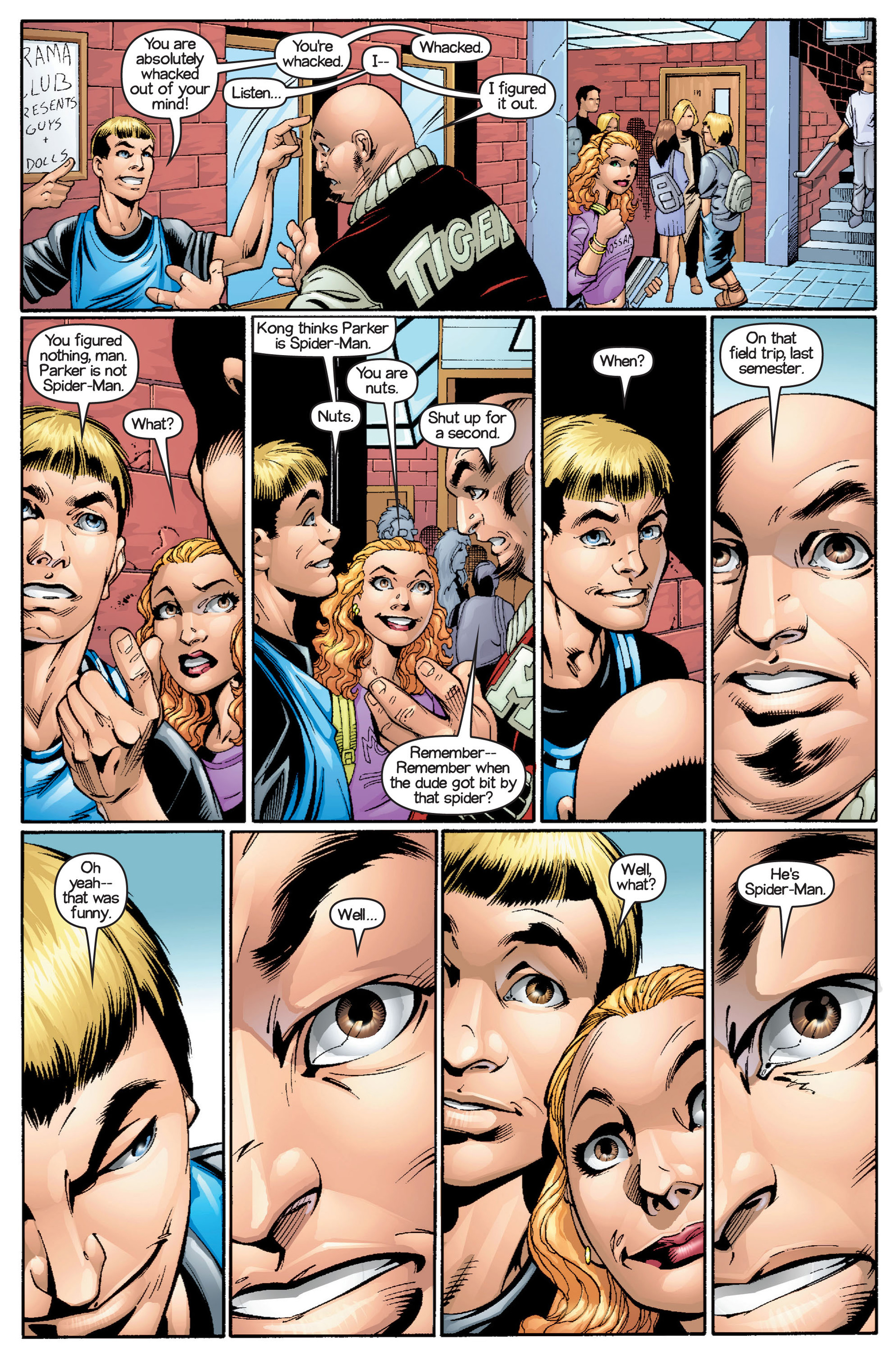 Read online Ultimate Spider-Man (2000) comic -  Issue #15 - 6