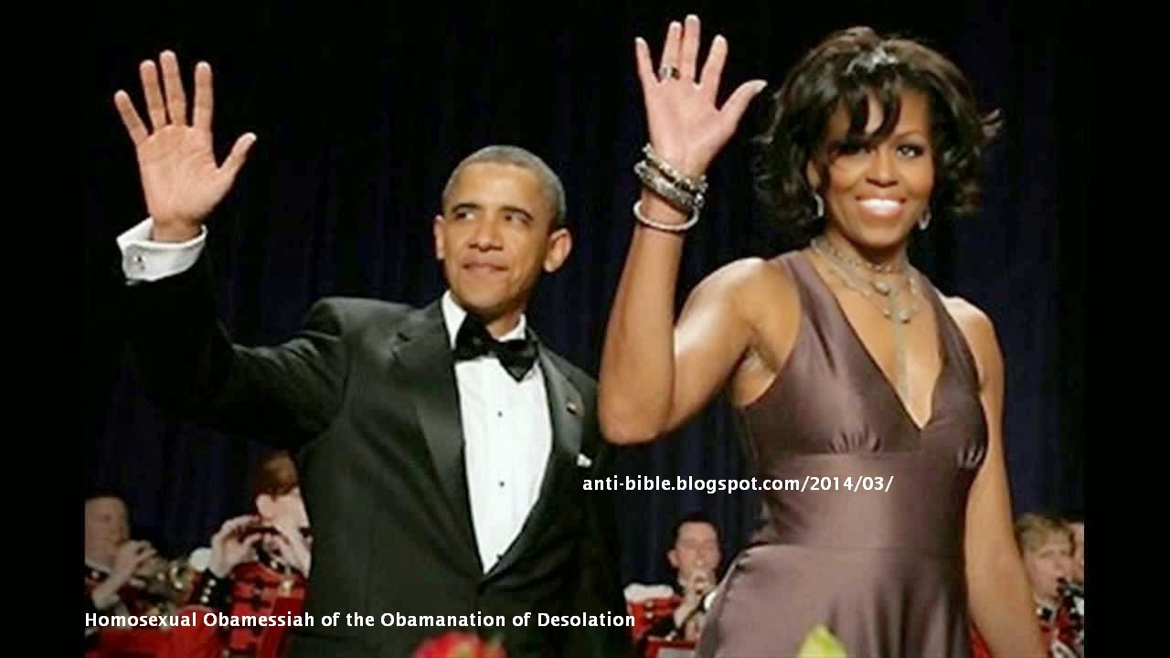 Anti-Bible By The Illuminati Transvestite Michelle Obama -7497