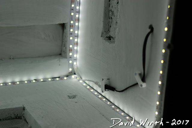 how to wire led strip lights