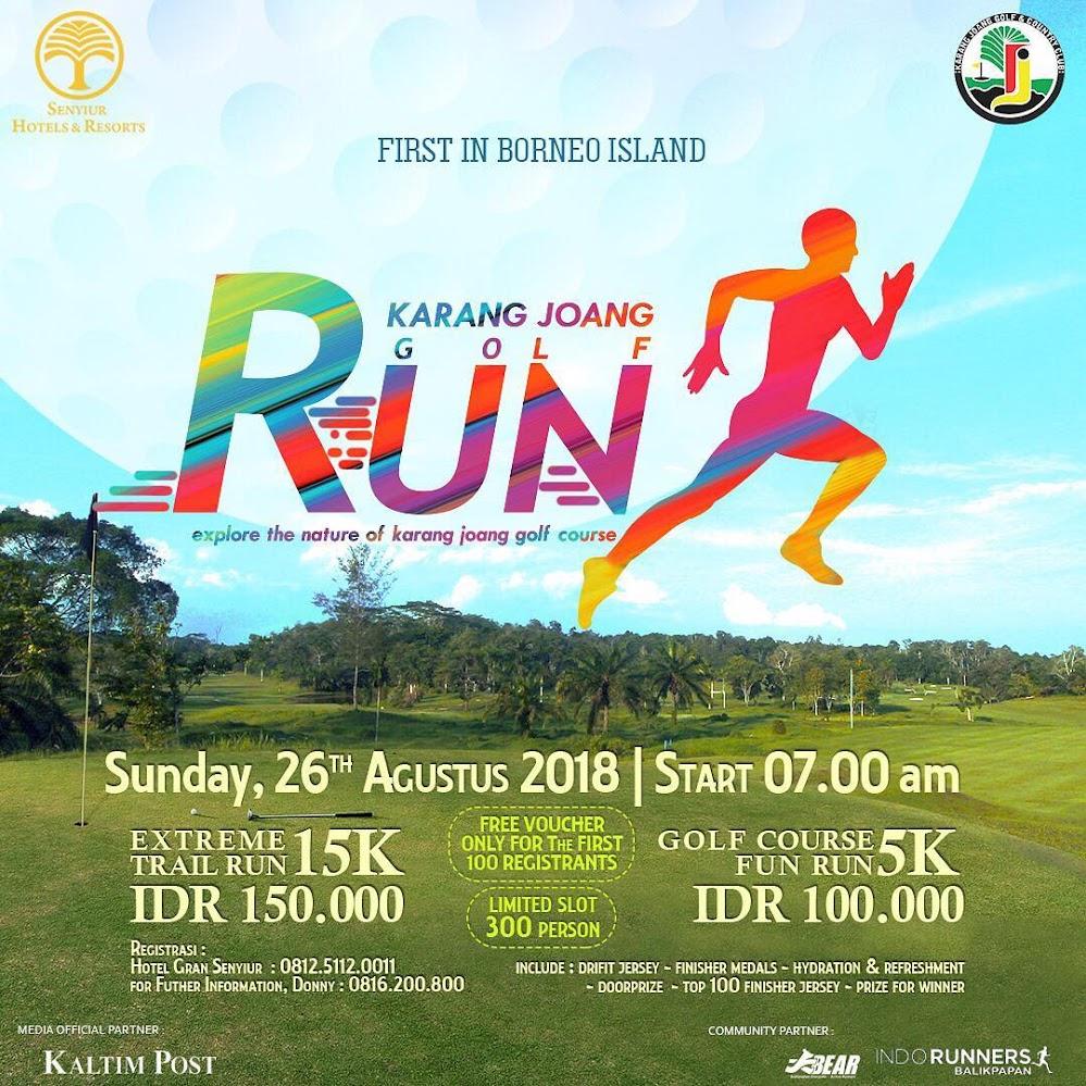 Karang Joang Golf Run • 2018