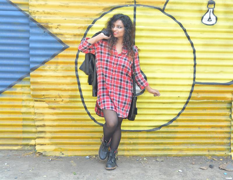 leather jacket indian fashion blogger winter fashion