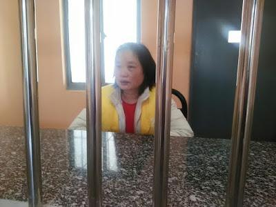 安徽访民钱祥梅在看守所中受到虐待(图)