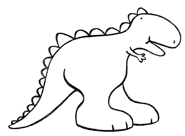 opinion album dinosaur coloring pages | Dibujo de dinosaurios para colorear - Imagui