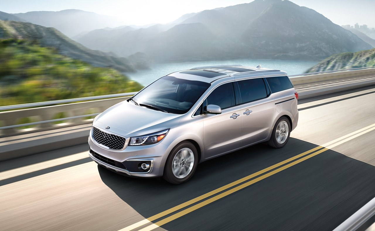 Kia Makes Improvements To Sedona Minivan