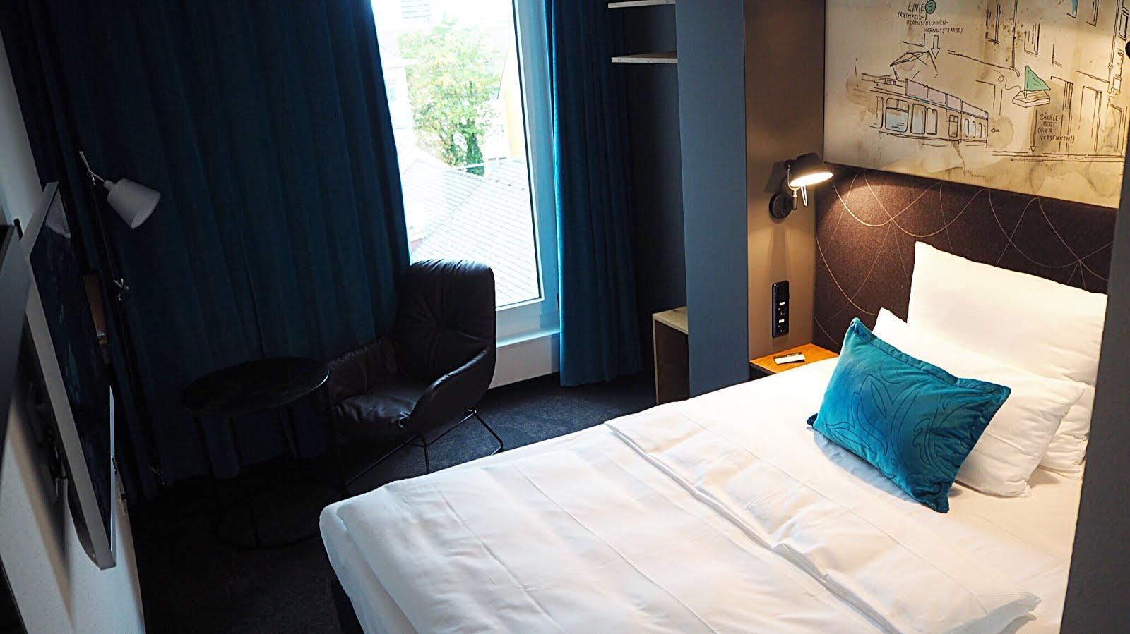 Erstbezug im Motel One in Freiburg