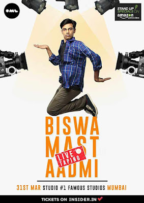 Biswa Kalyan Rath: Biswa Mast Aadmi Amazon Prime Originals Stand Up Comedy 720P Download Google Drive