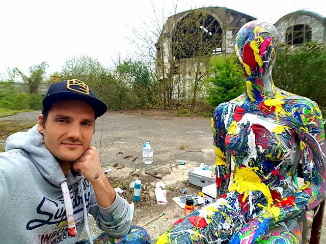 Selfie - Abstract Art - Ben Heine Artist - BenHeineArt - Clip de Musique - Quand T'es Loin